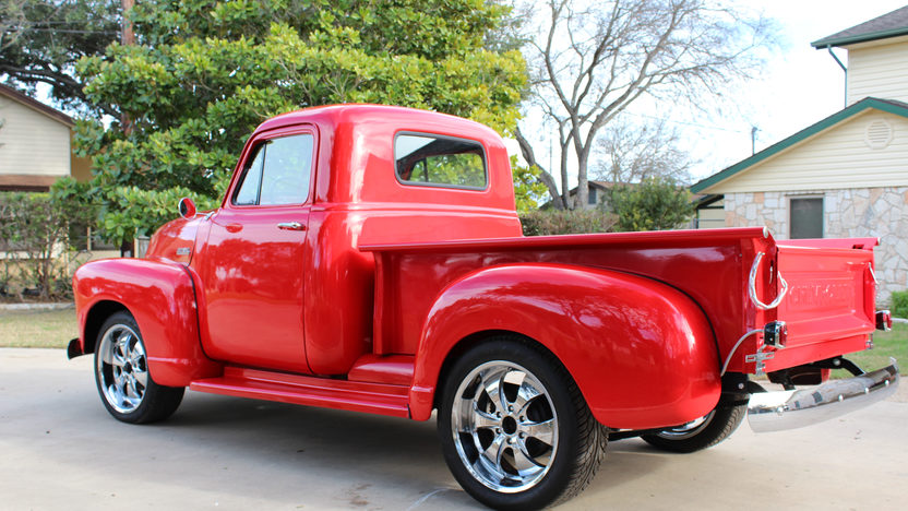 1952 Chevrolet 3100 Pickup 235 CI, Wood Bed presented as lot T85 at Houston, TX 2013 - image2