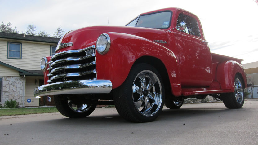 1952 Chevrolet 3100 Pickup 235 CI, Wood Bed presented as lot T85 at Houston, TX 2013 - image8