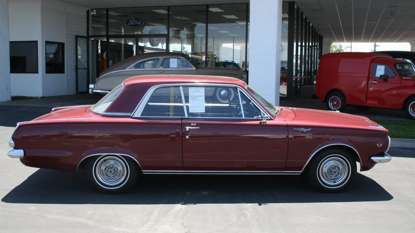 1965 Plymouth Valiant 273/180 HP, Automatic presented as lot T88 at Houston, TX 2013 - image2