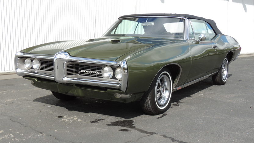 1968 Pontiac Lemans Convertible 350 CI, Automatic presented as lot T89 at Houston, TX 2013 - image8