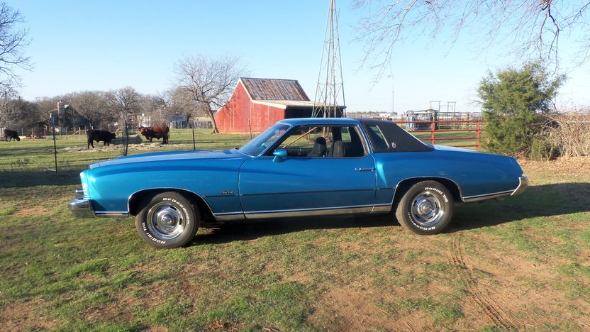 1973 Chevrolet Monte Carlo 454 CI, Automatic presented as lot T133 at Houston, TX 2013 - image2