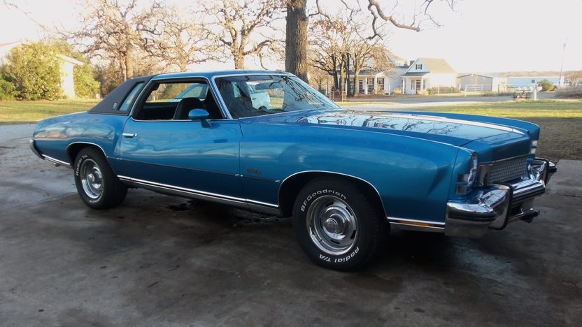1973 Chevrolet Monte Carlo 454 CI, Automatic presented as lot T133 at Houston, TX 2013 - image8