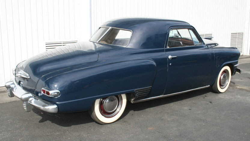 1947 Studebaker Business Coupe 170/80 HP, 3-Speed presented as lot T135 at Houston, TX 2013 - image2