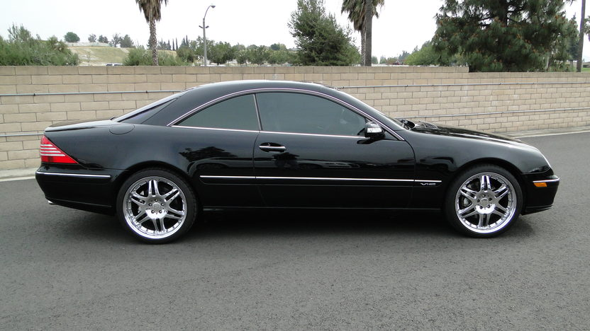 2004 Mercedes-Benz CL600 AMG presented as lot T165 at Houston, TX 2013 - image2