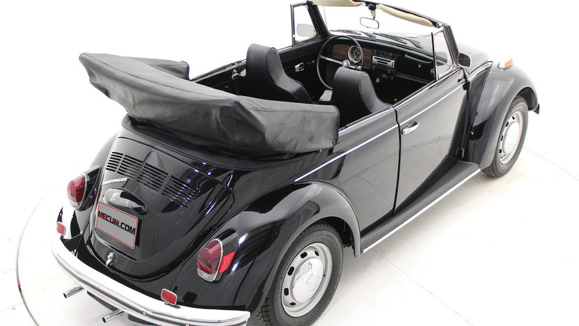 1970 Volkswagen Beetle Convertible 4-Speed, Triple Black presented as lot T169 at Houston, TX 2013 - image6