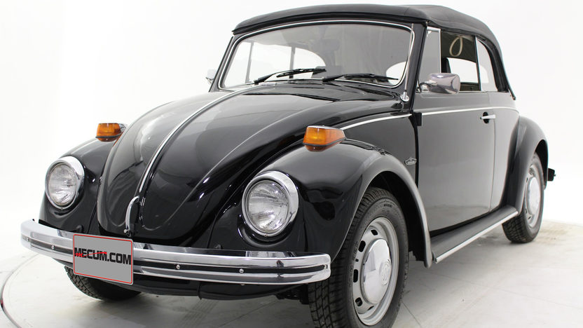 1970 Volkswagen Beetle Convertible 4-Speed, Triple Black presented as lot T169 at Houston, TX 2013 - image8
