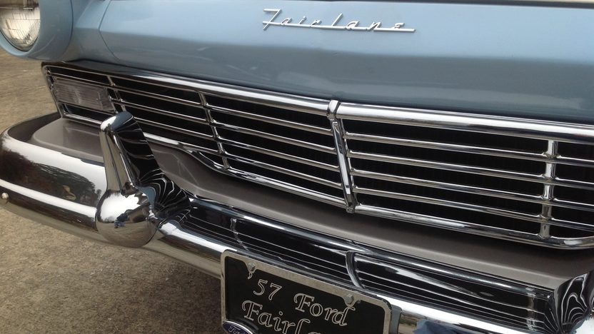 1957 Ford Fairlane 500 272 CI, Automatic presented as lot T181 at Houston, TX 2013 - image8