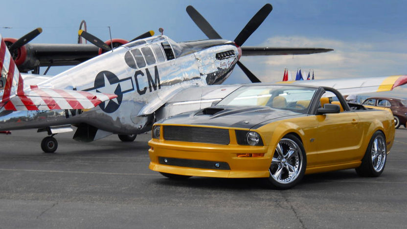 2007 Ford Mustang GT Convertible 4.6/452 HP, 5-Speed presented as lot T183 at Houston, TX 2013 - image3