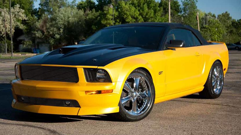 2007 Ford Mustang GT Convertible 4.6/452 HP, 5-Speed presented as lot T183 at Houston, TX 2013 - image6