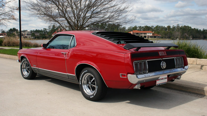 1970 Ford Mustang Mach 1 Fastback 428 CJ, Automatic presented as lot T188 at Houston, TX 2013 - image6