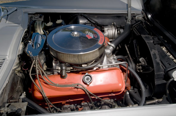 1966 Chevrolet Corvette Convertible 427/425 HP, Protect-O-Plate presented as lot T193 at Houston, TX 2013 - image9