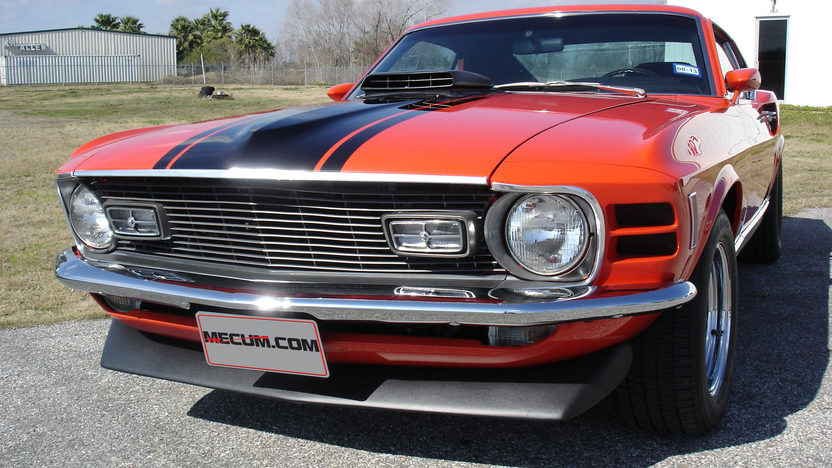 1970 Ford Mustang Mach 1 Fastback 351 CI, Automatic presented as lot T196 at Houston, TX 2013 - image11