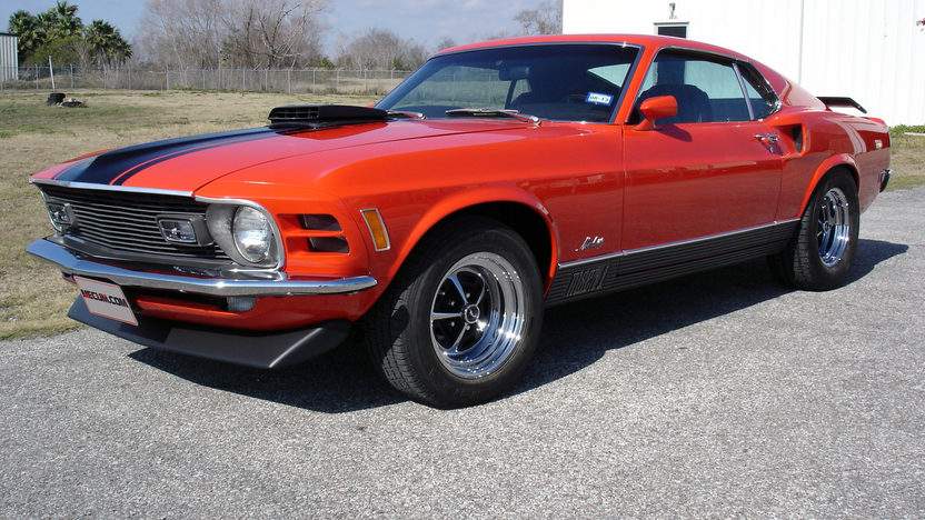 1970 Ford Mustang Mach 1 Fastback 351 CI, Automatic presented as lot T196 at Houston, TX 2013 - image12
