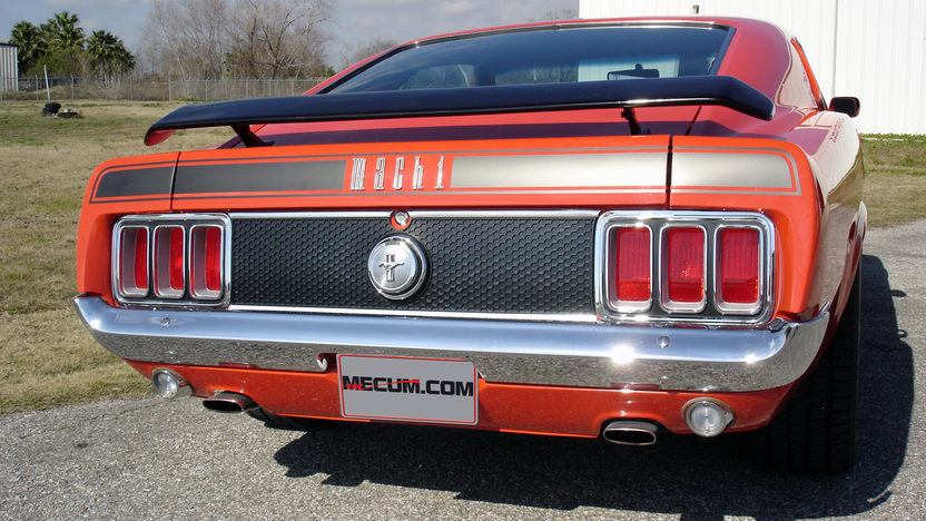 1970 Ford Mustang Mach 1 Fastback 351 CI, Automatic presented as lot T196 at Houston, TX 2013 - image3