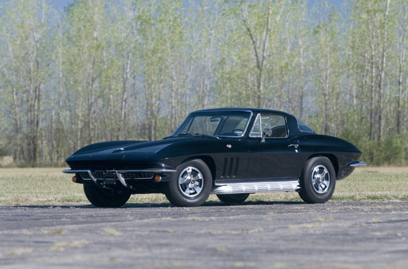 1966 Chevrolet Corvette Coupe 327/300 HP, 4-Speed presented as lot T200 at Houston, TX 2013 - image10