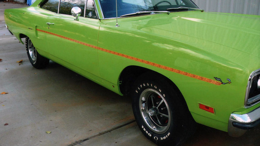 1970 Plymouth Road Runner 383 CI, Automatic presented as lot T201 at Houston, TX 2013 - image8