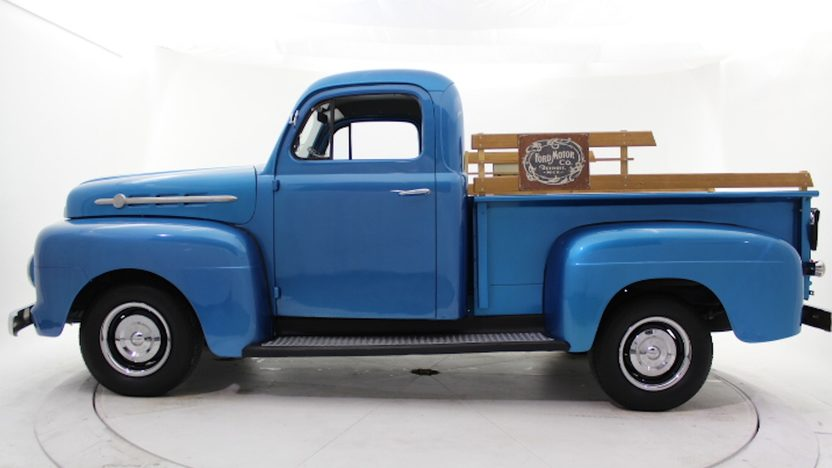 1952 Ford F1 Pickup Flathead V-8, 4-Speed presented as lot T204 at Houston, TX 2013 - image2