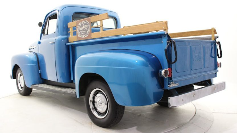1952 Ford F1 Pickup Flathead V-8, 4-Speed presented as lot T204 at Houston, TX 2013 - image3