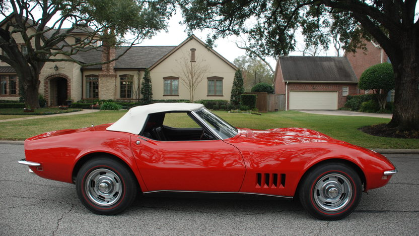 1968 Chevrolet Corvette Convertible 327/350 HP, 4-Speed presented as lot T239 at Houston, TX 2013 - image2