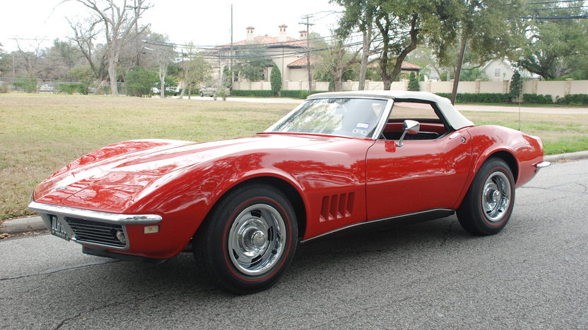1968 Chevrolet Corvette Convertible 327/350 HP, 4-Speed presented as lot T239 at Houston, TX 2013 - image8