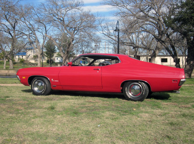 1970 Ford Torino 429/360 HP, Automatic presented as lot T254 at Houston, TX 2013 - image2