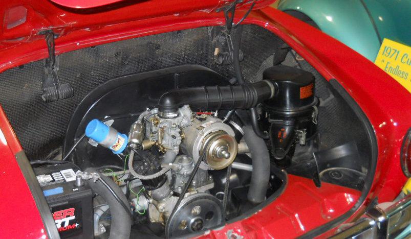 1969 Volkswagen Karmann Ghia 1900 CC, 4-Speed presented as lot T257 at Houston, TX 2013 - image3