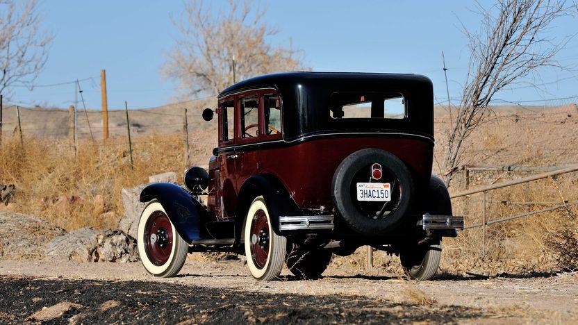 1930 Chevrolet 4-Door Sedan presented as lot T264 at Houston, TX 2013 - image10