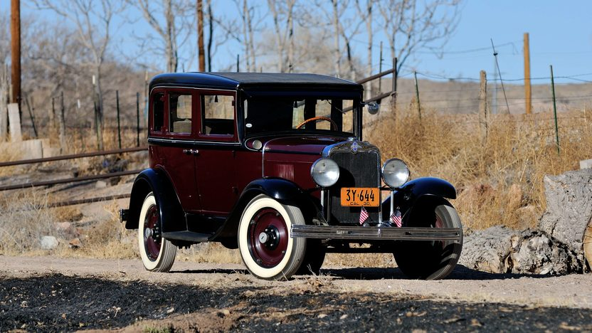 1930 Chevrolet 4-Door Sedan presented as lot T264 at Houston, TX 2013 - image11