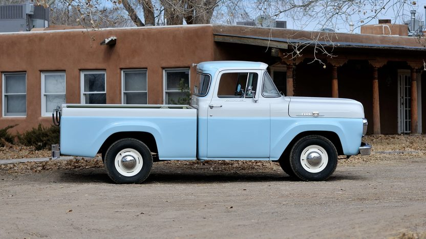 1959 Ford F100 Pickup presented as lot T267 at Houston, TX 2013 - image2