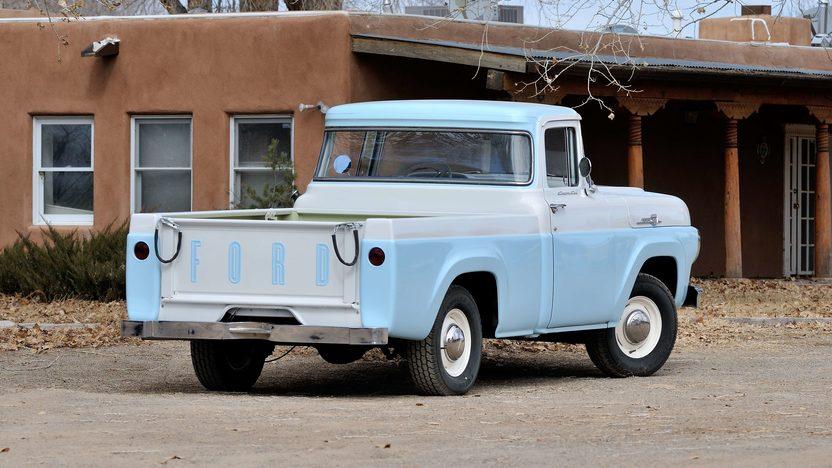1959 Ford F100 Pickup presented as lot T267 at Houston, TX 2013 - image3