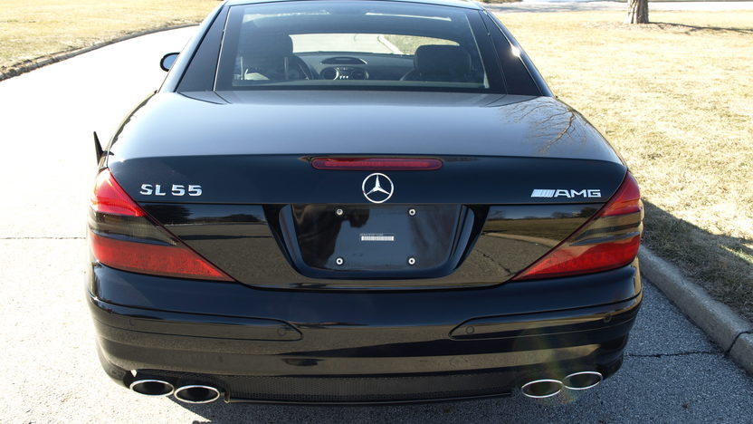 2005 Mercedes-Benz SL55 AMG Convertible presented as lot T277 at Houston, TX 2013 - image3