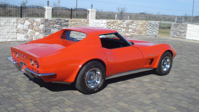 1973 Chevrolet Corvette Coupe 350 CI, 4-Speed presented as lot T311 at Houston, TX 2013 - image6