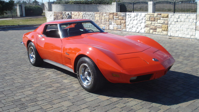 1973 Chevrolet Corvette Coupe 350 CI, 4-Speed presented as lot T311 at Houston, TX 2013 - image8