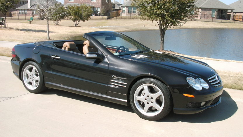 2004 Mercedes-Benz SL55 AMG Convertible presented as lot T316 at Houston, TX 2013 - image7