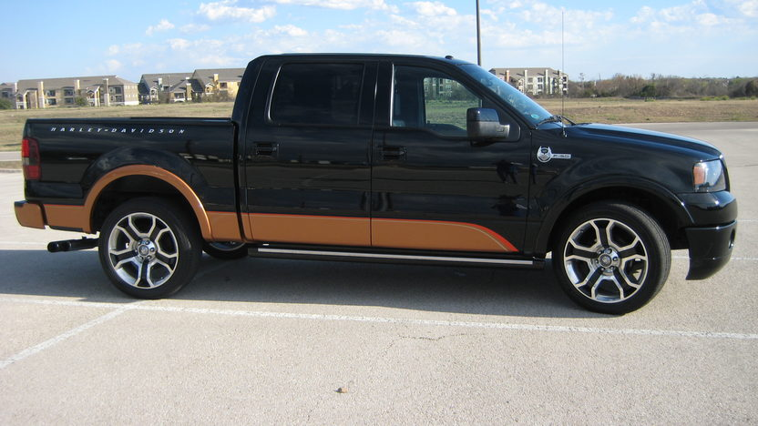2008 Ford F150 Pickup Harley-Davidson Edition, Saleen Supercharger presented as lot T318 at Houston, TX 2013 - image2