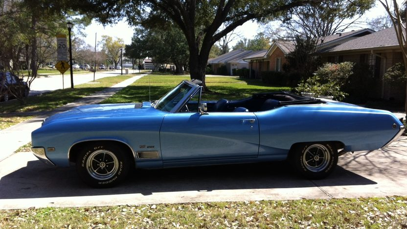 1968 Buick GS 400 Convertible presented as lot T328 at Houston, TX 2013 - image2