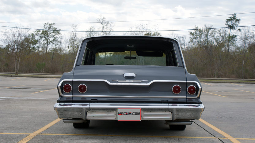 1963 Chevrolet Bel Air Wagon 327 CI, Automatic presented as lot T330 at Houston, TX 2013 - image3