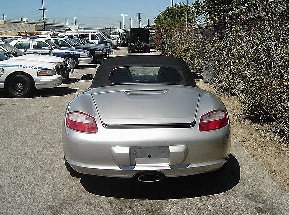2005 Porsche Boxster Convertible presented as lot F16 at Houston, TX 2013 - image3