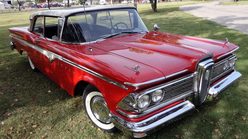 1959 Edsel Ranger Hardtop 292 CI, Automatic presented as lot F23 at Houston, TX 2013 - image6