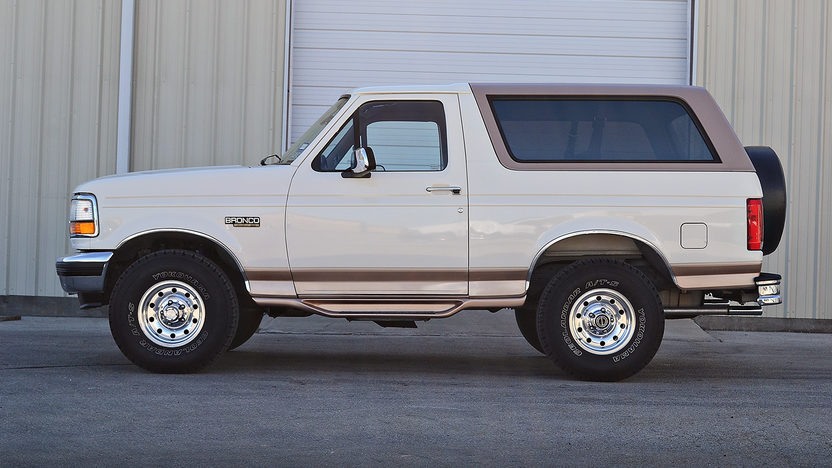 1995 Ford Bronco 5.8L, Eddie Bauer Edition presented as lot F27 at Houston, TX 2013 - image2
