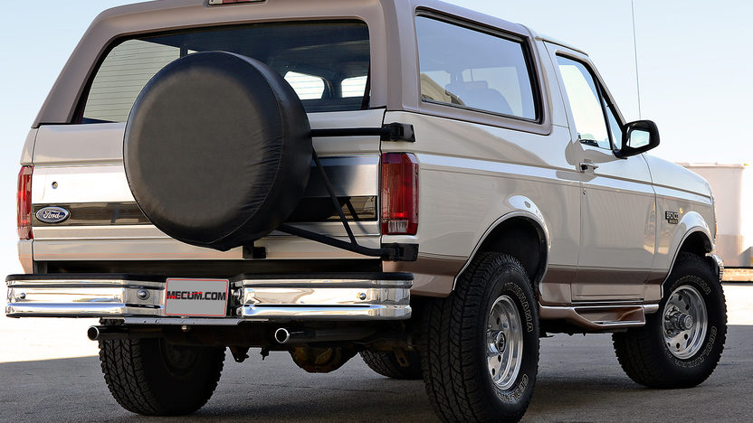 1995 Ford Bronco 5.8L, Eddie Bauer Edition presented as lot F27 at Houston, TX 2013 - image3