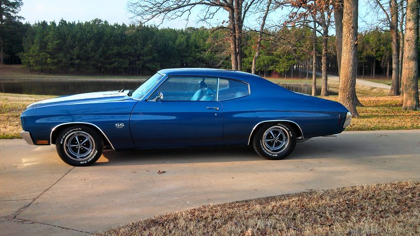 1970 Chevrolet Chevelle 402 CI, Automatic presented as lot F32 at Houston, TX 2013 - image2
