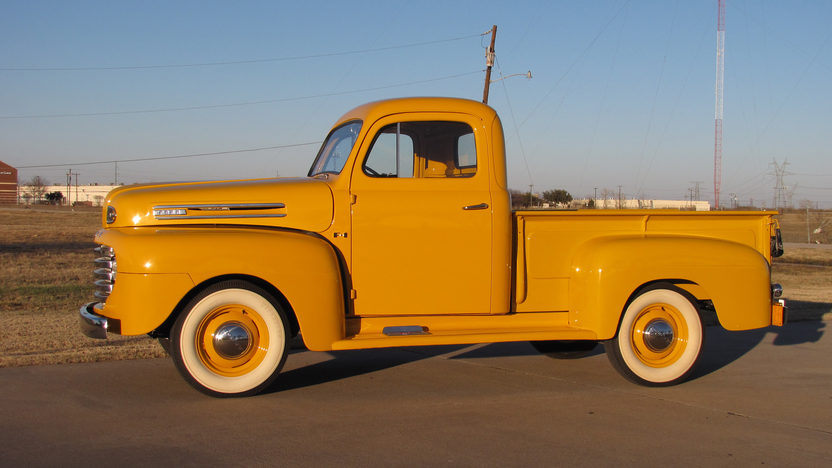 1949 Ford F1 Pickup Flathead V-8, Frame-off Restoration presented as lot F37 at Houston, TX 2013 - image2
