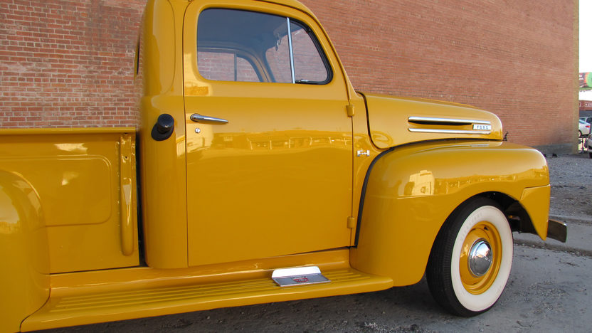 1949 Ford F1 Pickup Flathead V-8, Frame-off Restoration presented as lot F37 at Houston, TX 2013 - image7