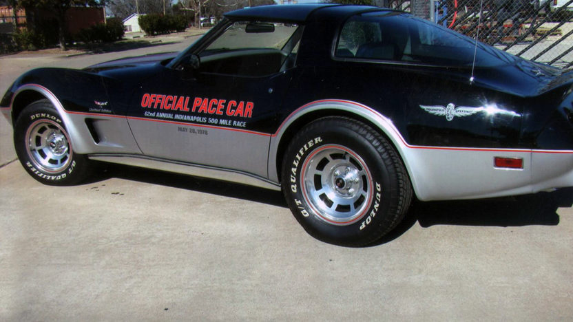 1978 Chevrolet Corvette Pace Car Edition 350 CI, Automatic presented as lot F84 at Houston, TX 2013 - image2