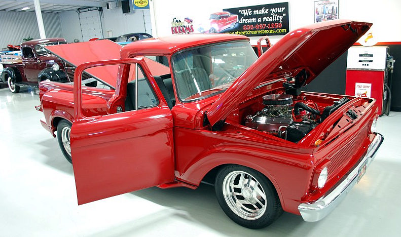 1965 Ford F100 Street Rod Pickup 429 CI, Automatic presented as lot F99 at Houston, TX 2013 - image11