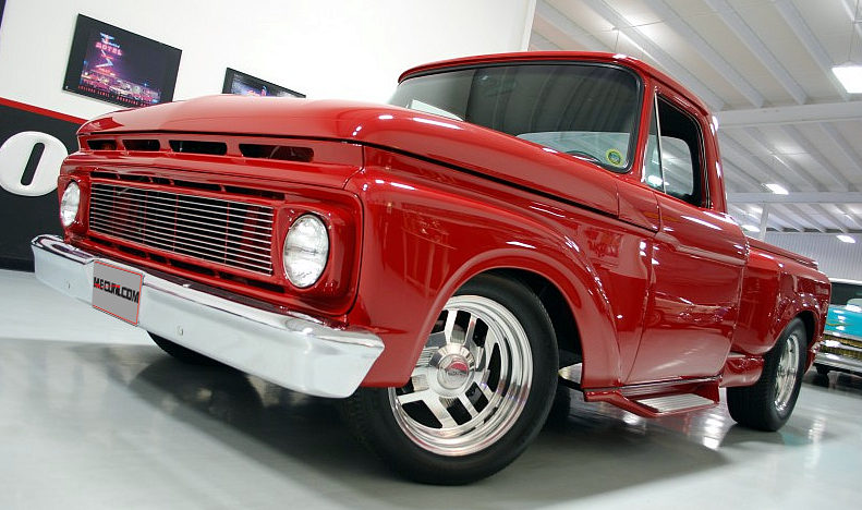 1965 Ford F100 Street Rod Pickup 429 CI, Automatic presented as lot F99 at Houston, TX 2013 - image12