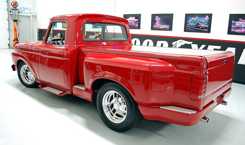 1965 Ford F100 Street Rod Pickup 429 CI, Automatic presented as lot F99 at Houston, TX 2013 - image2