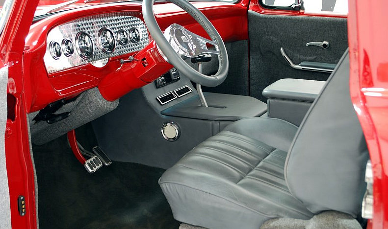 1965 Ford F100 Street Rod Pickup 429 CI, Automatic presented as lot F99 at Houston, TX 2013 - image4
