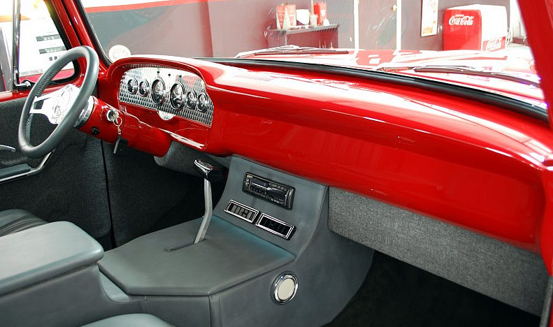 1965 Ford F100 Street Rod Pickup 429 CI, Automatic presented as lot F99 at Houston, TX 2013 - image5